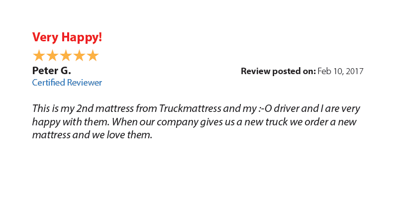 Very happy customer review