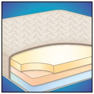 Dual Duty - Two-sided Flippable Foam Mattress