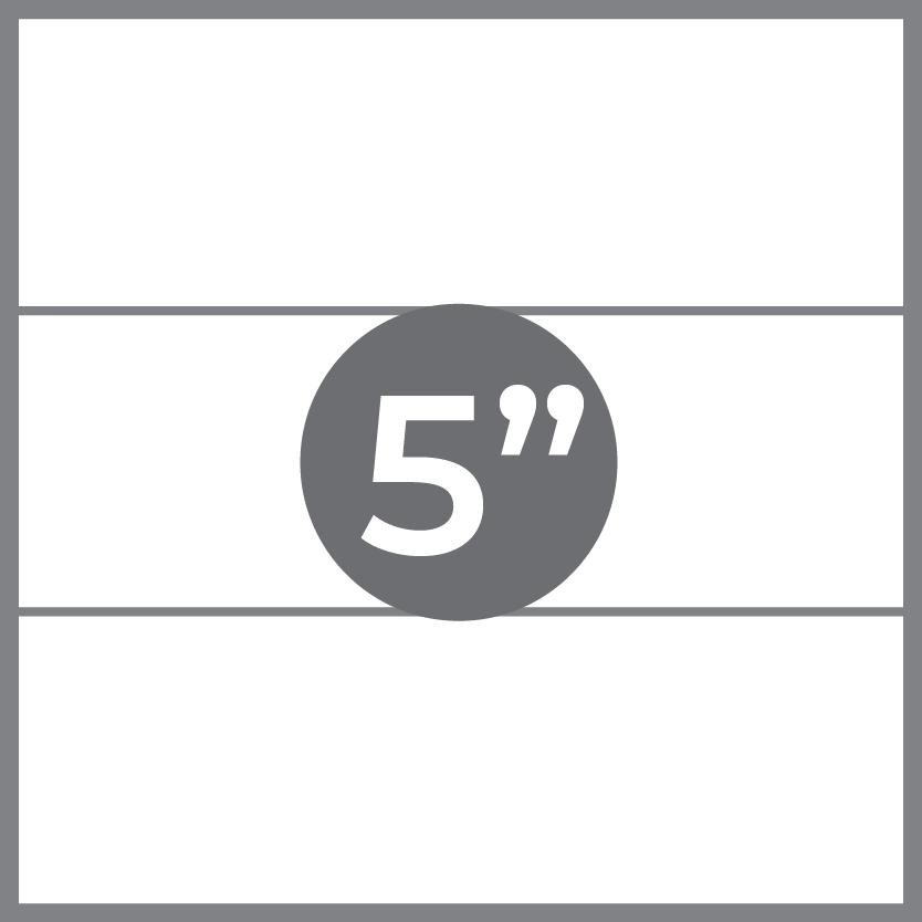 "5"" foam mattress"